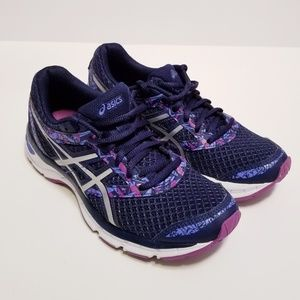 Asics Gel Excite 4 T6E8N Size 6 Purple Sneakers